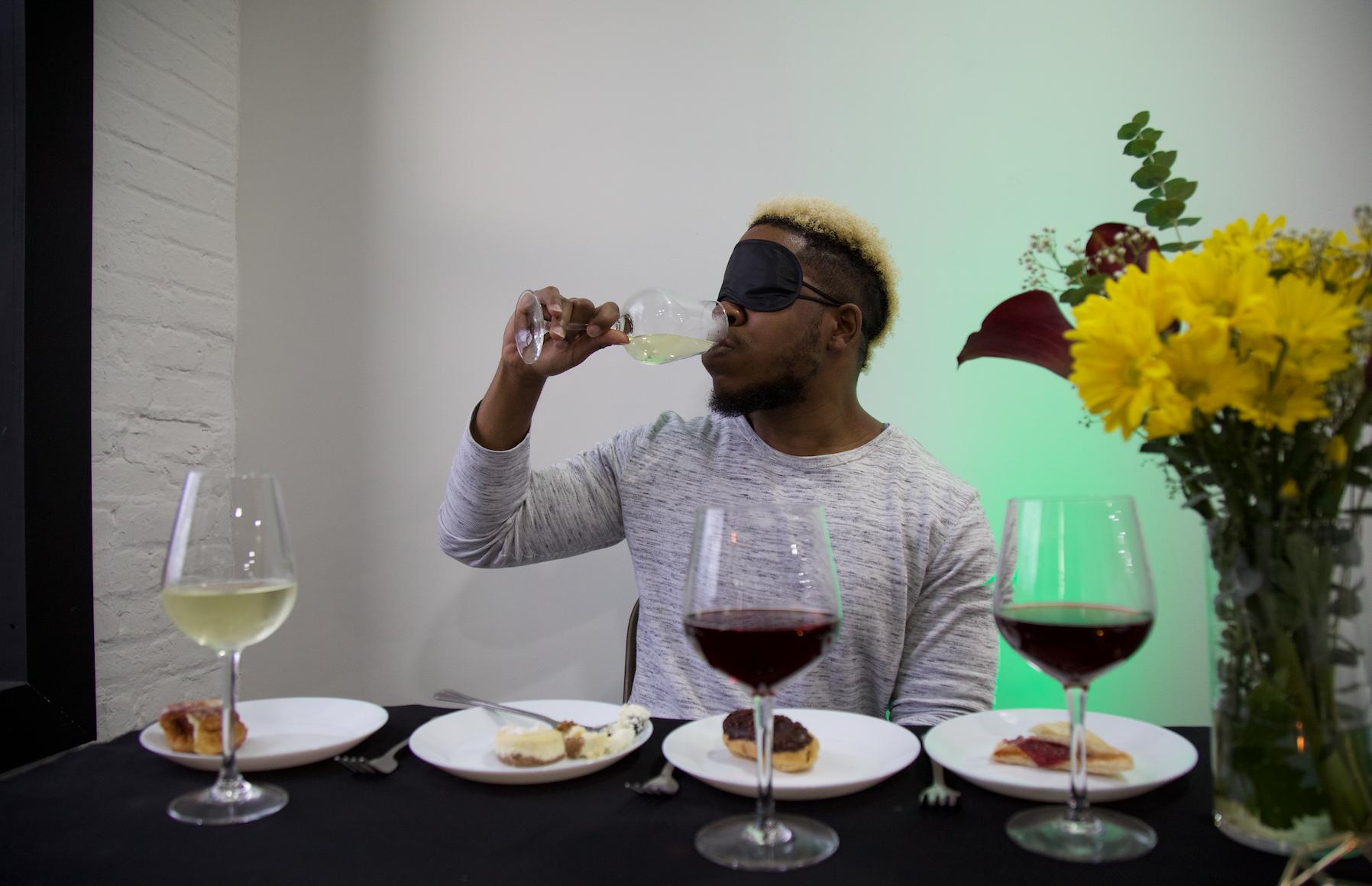 Blindfold Wine & Desert Pairing